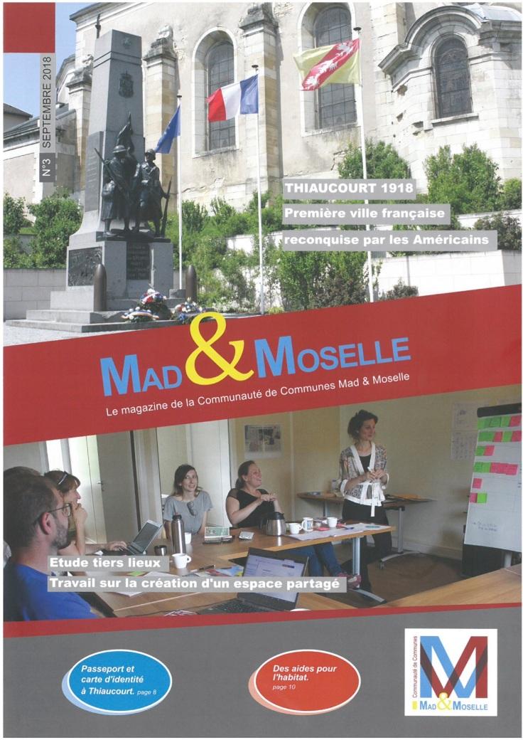 première de couverture - Mag Mad et Moselle